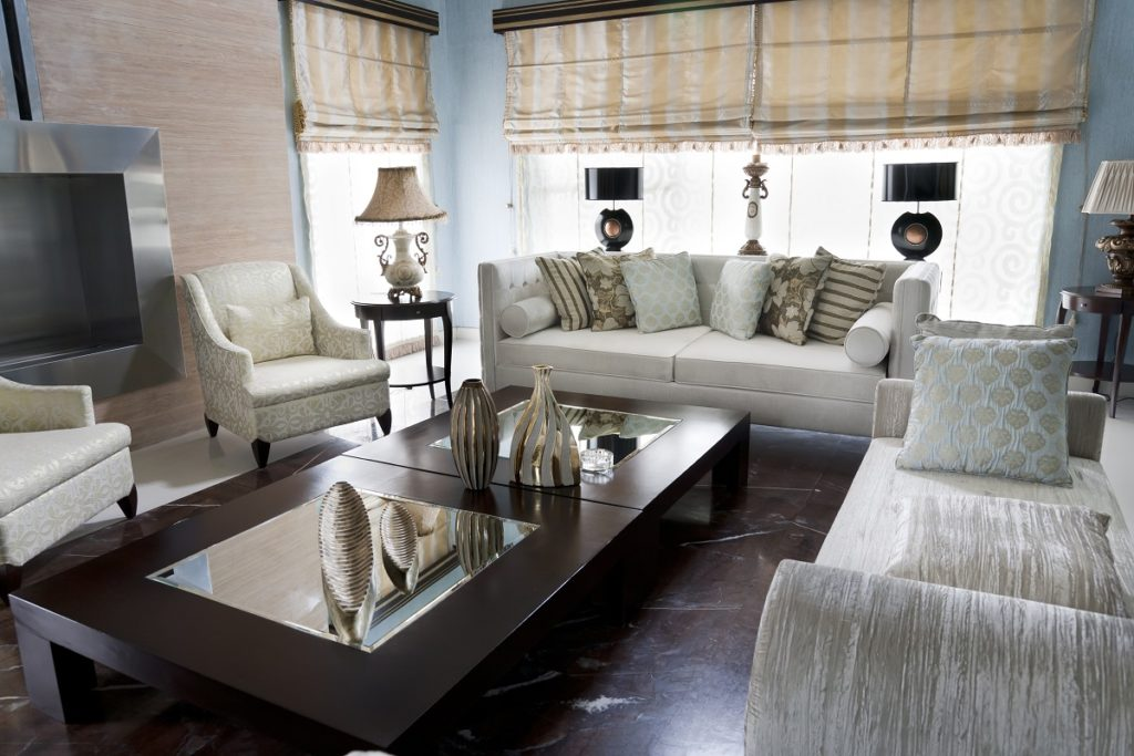 Classy furniture with oriental furniture