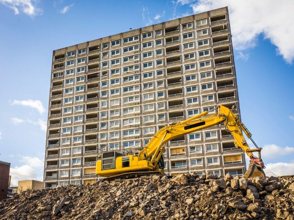 Housing property under construction