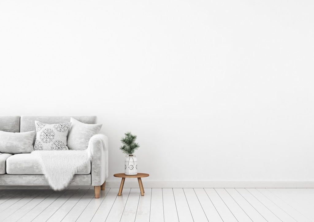 Cozy minimalist room